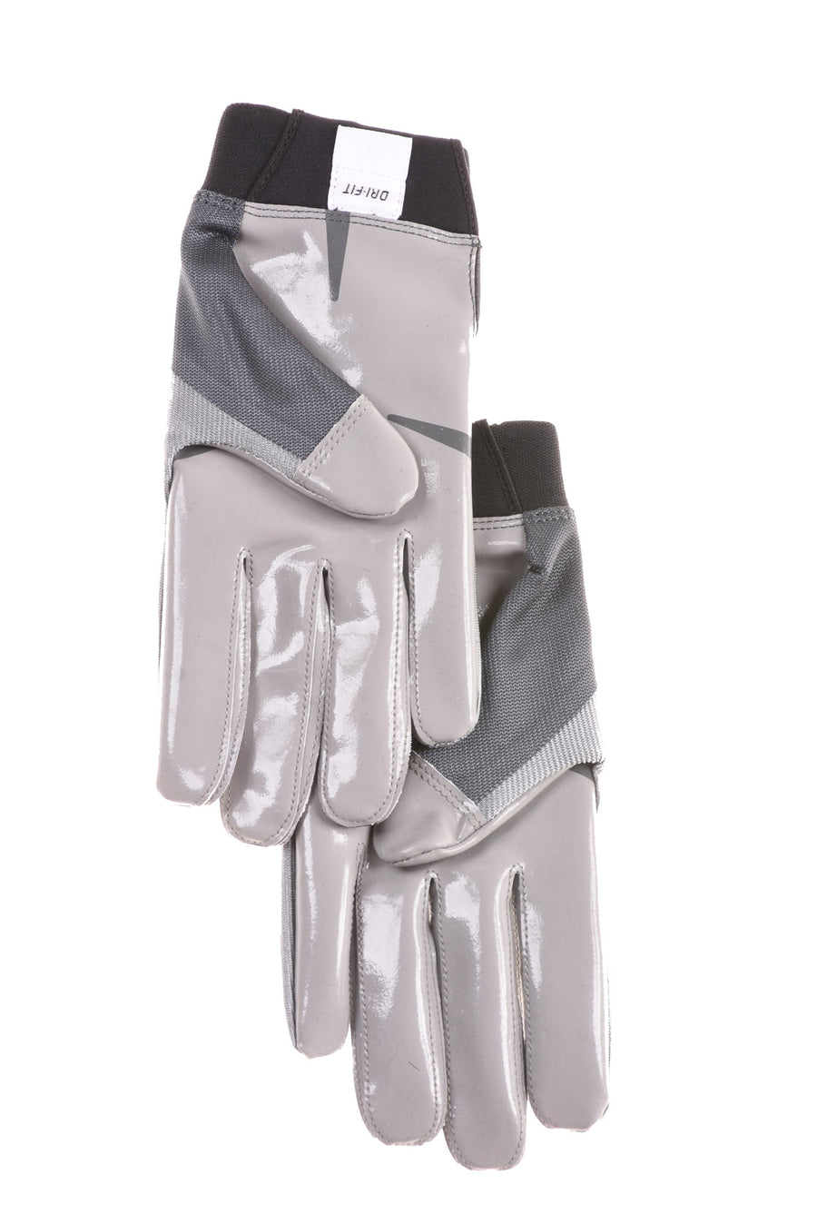 USED Nike Men's Gloves XX-Large Green & Gray