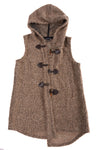 USED Saks Fifth Avenue Women's Vest Small Brown
