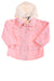 USED Signature Kids Headquarters Baby Girl's Jacket 24 Months Pink & White