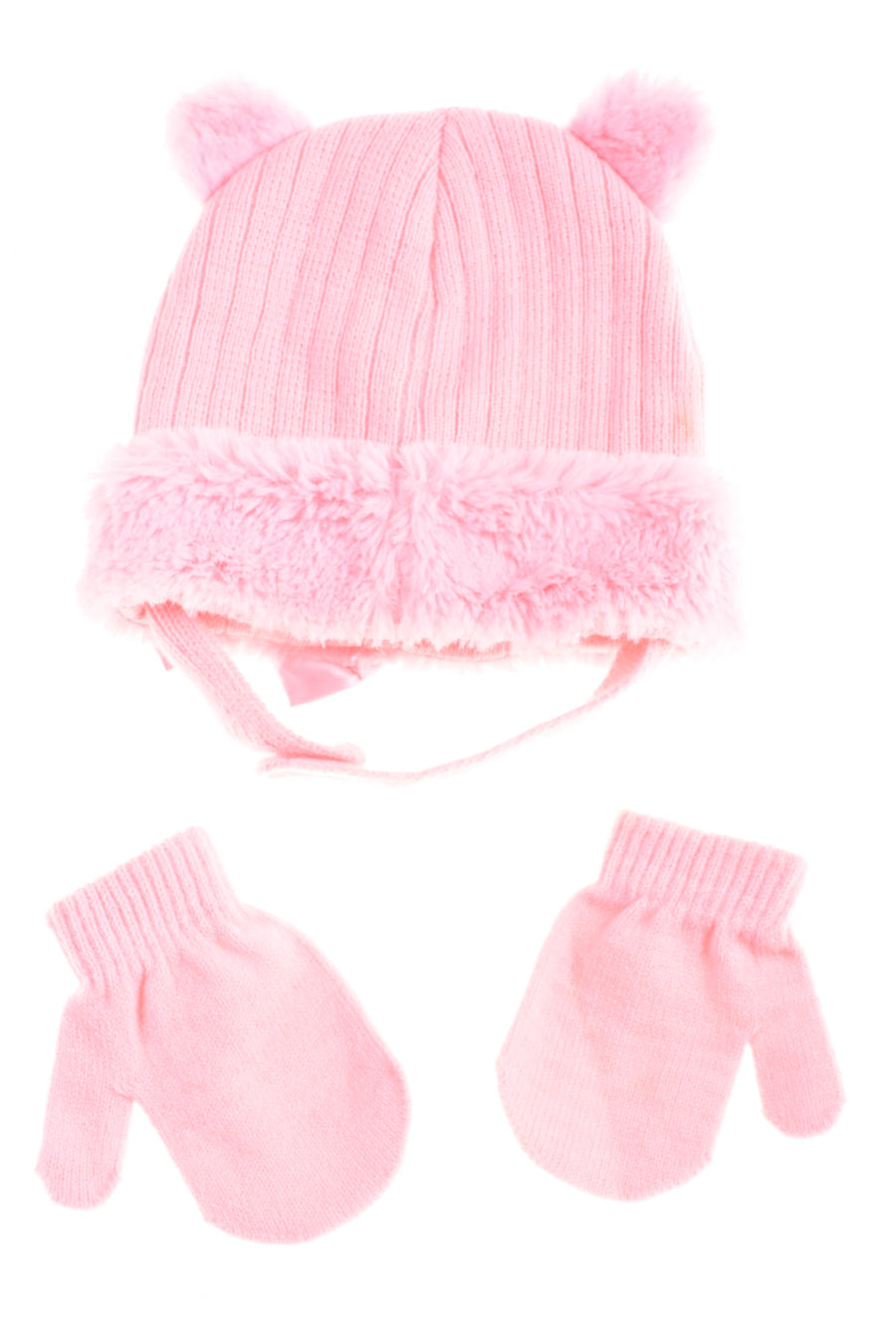USED No Brand Baby Girl's Winter Set One Size Pink