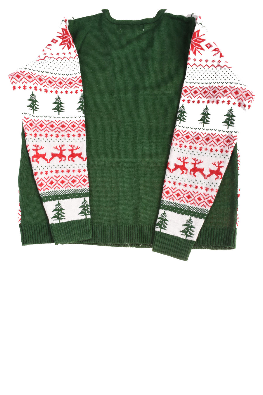 USED Jolly Sweaters Men's Sweater X-Large Red, White & Green