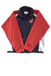 USED G-111 Sports Men's Cleveland Indians Jacket X-Large Red,White, & Blue