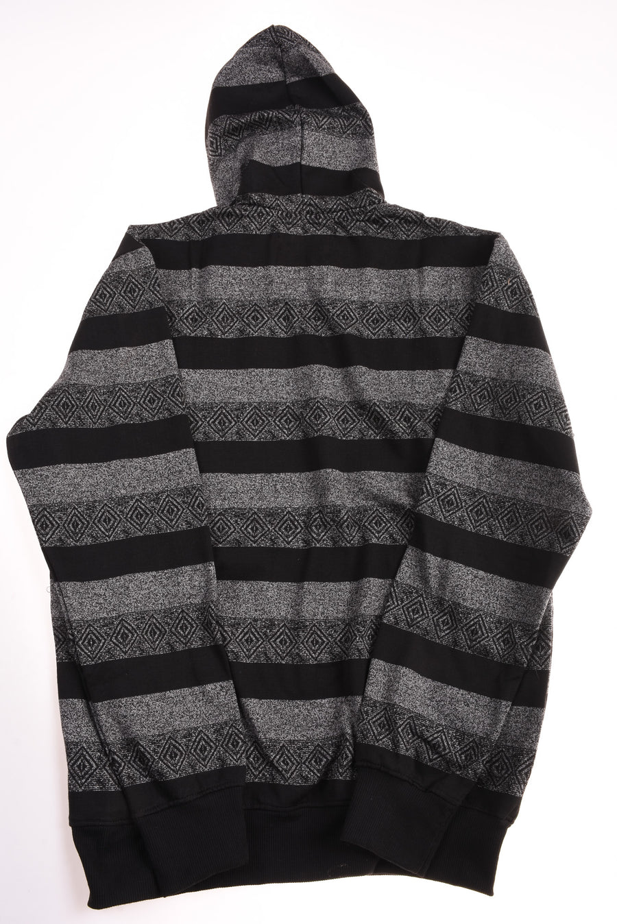 NEW Marx & Dutch Men's Hoodie Large Black & Gray