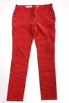 USED Pilcro & The Letterpress Women's Petite Pants 30 Red