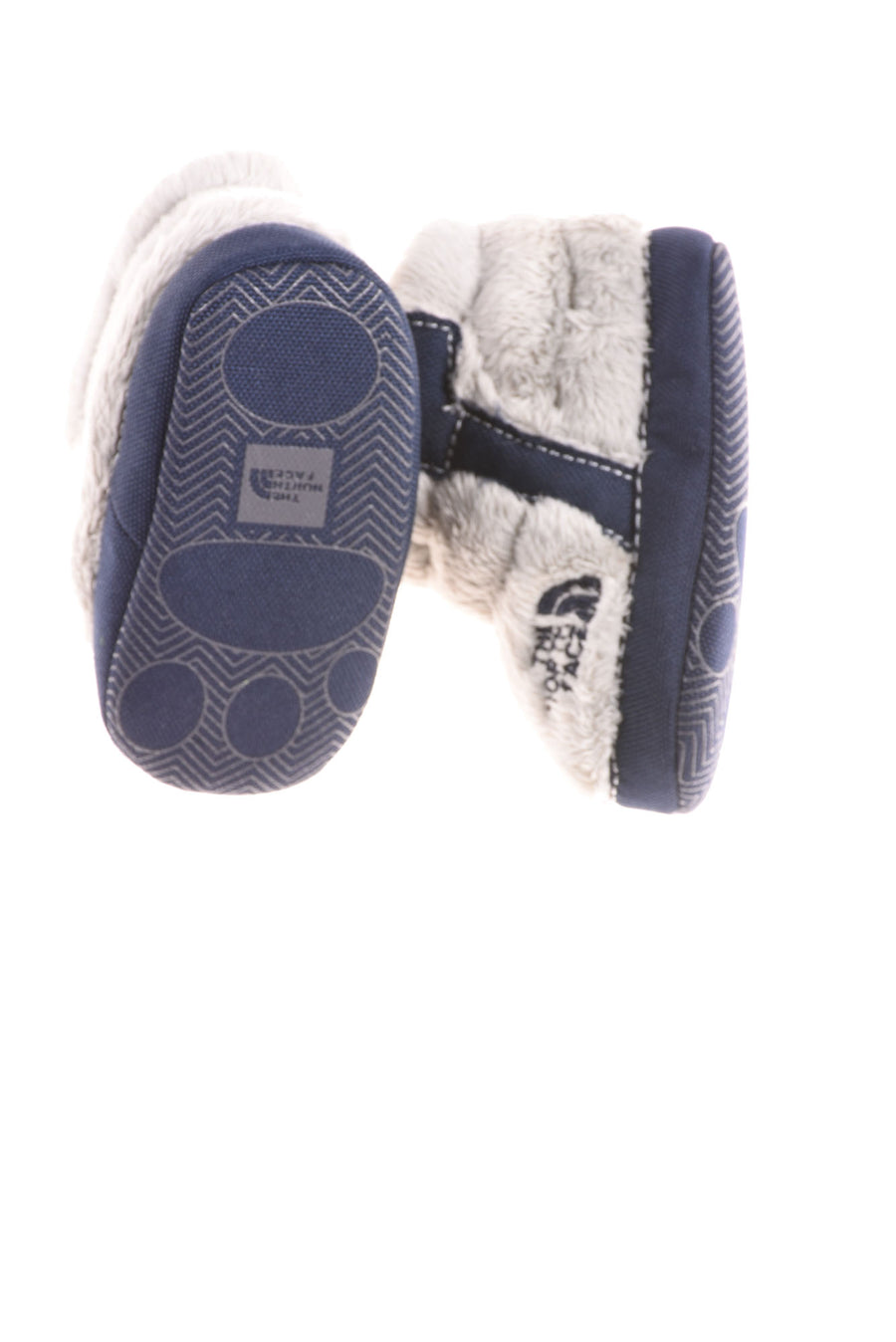 USED The North Face Baby Boy's Boots 3 Blue & Gray