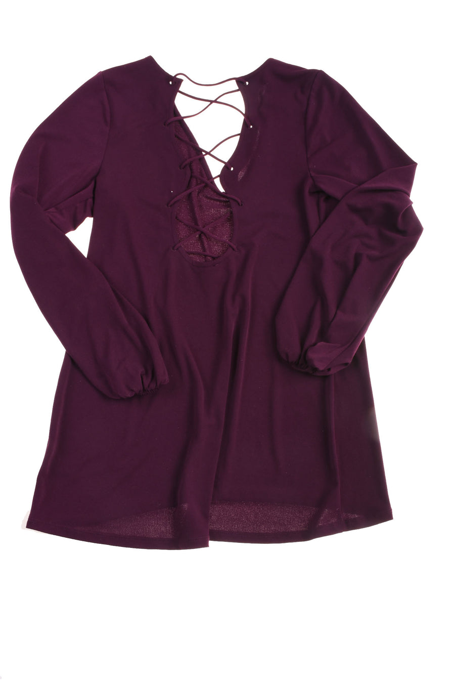 USED Express Women's Top Small Purple