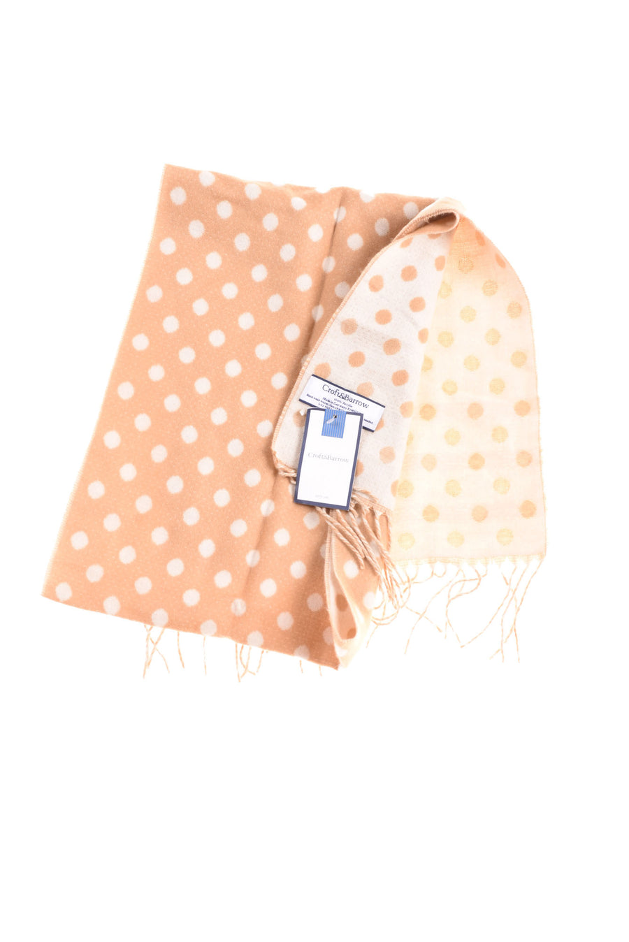 NEW Croft & Barrow Women's Scarf One Size Light Brown & Beige
