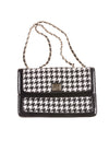 USED Anne Klein Women's Handbag N/A Black & White