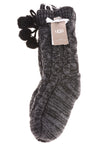 NEW UGG Women's Socks 9-11 Black & Gray