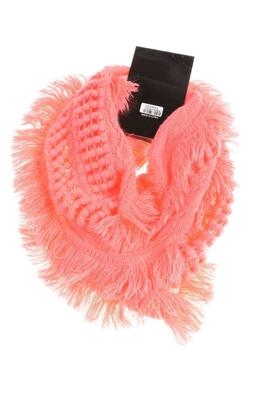 NEW No Brand Women's Scarf N/A Coral
