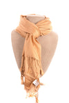 NEW Jewelry Is Fun Women's Scarf N/A Tan