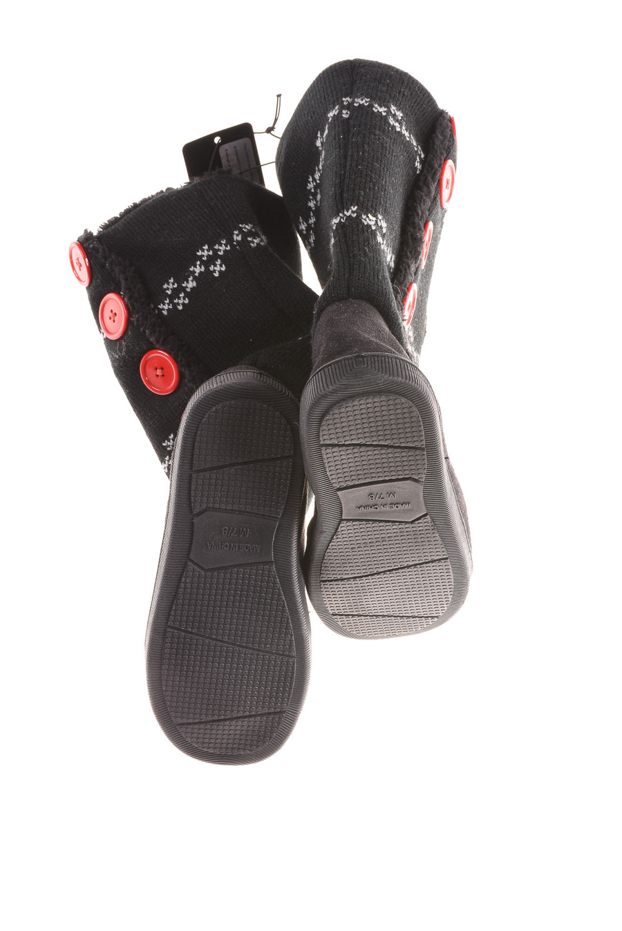 NEW Ohio State Women's Boots 7/8 Black