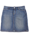 USED Tommy Hilfiger Women's Skirt 0 Blue
