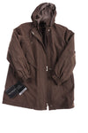 NEW Fleet Street LTD Women's Jacket Medium Brown