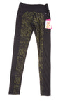NEW Reactivate Women's Active Pants Small Jet Black & Rifle Green