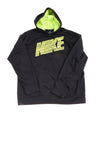 USED Nike Men's Pullover Hoodie Large Black