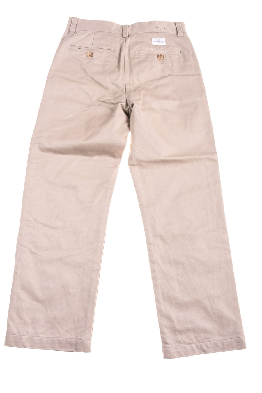 USED Vineyard Vines Boy's Slacks 10 Tan