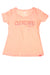 USED Authentic Sportige Women's Cleveland Cavalier's Top Large Peach