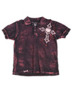USED Affliction Men's Shirt Small Black & Pink