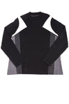 USED Lane Bryant Women's Plus Top 16 Black & White