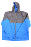 USED Under Armour Men's Jacket X-Large Blue & Gray