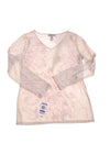 NEW I.N.C Women's Top X-Large Cream & Purple
