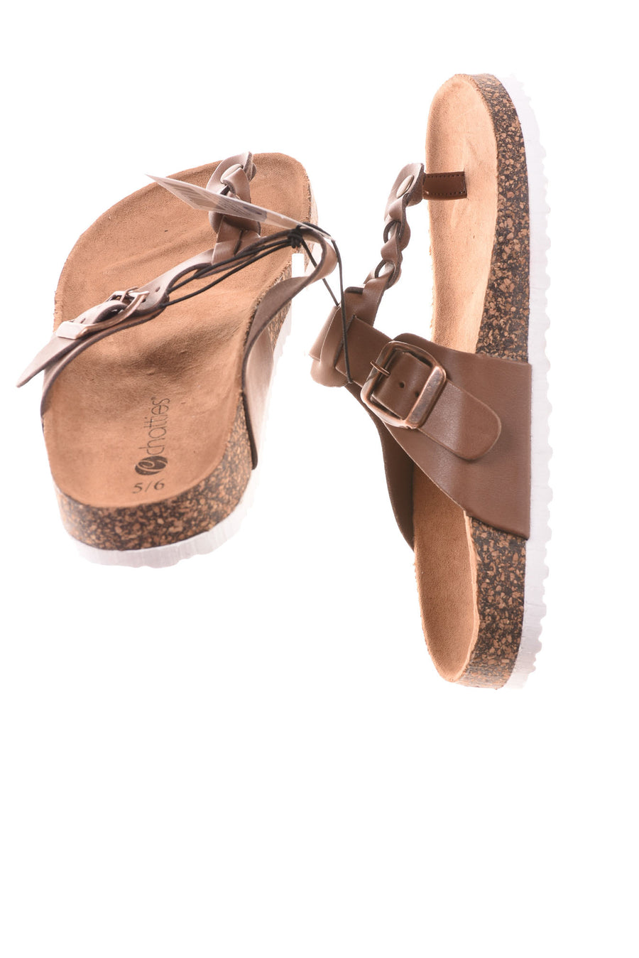 NEW Chatties Women's Shoes 5/6 Brown