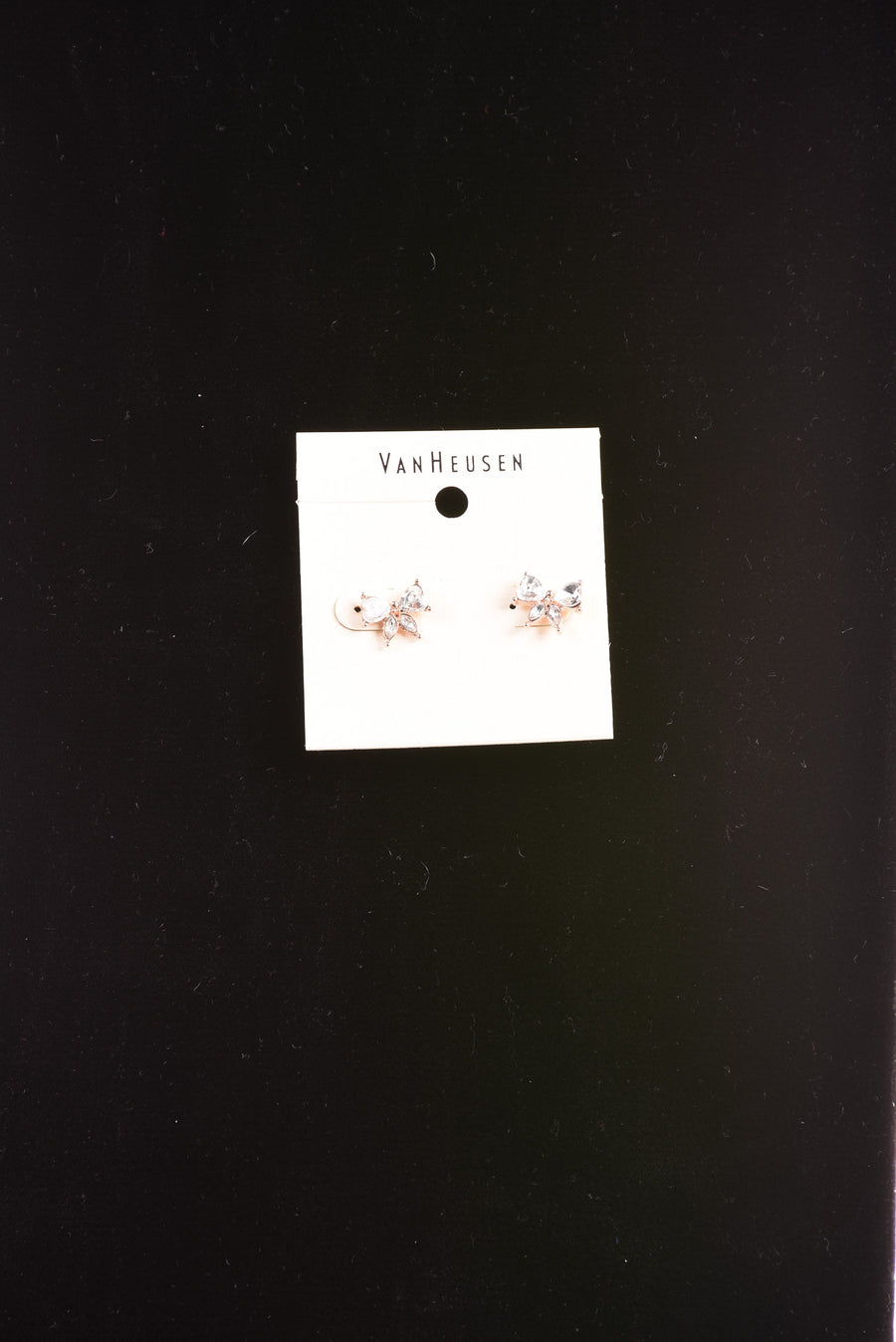 NEW Van Heusen Women's Earrings N/A Clear