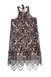 NEW Express Women's Dress X-Small Black & Cream
