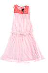 NEW Express Women's Dress Medium Pink & Red