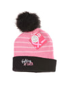 NEW National Breast Cancer Society Women's Hat One Size Pink & Black