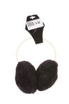 NEW Rampage Women's Earmuffs One Size Black