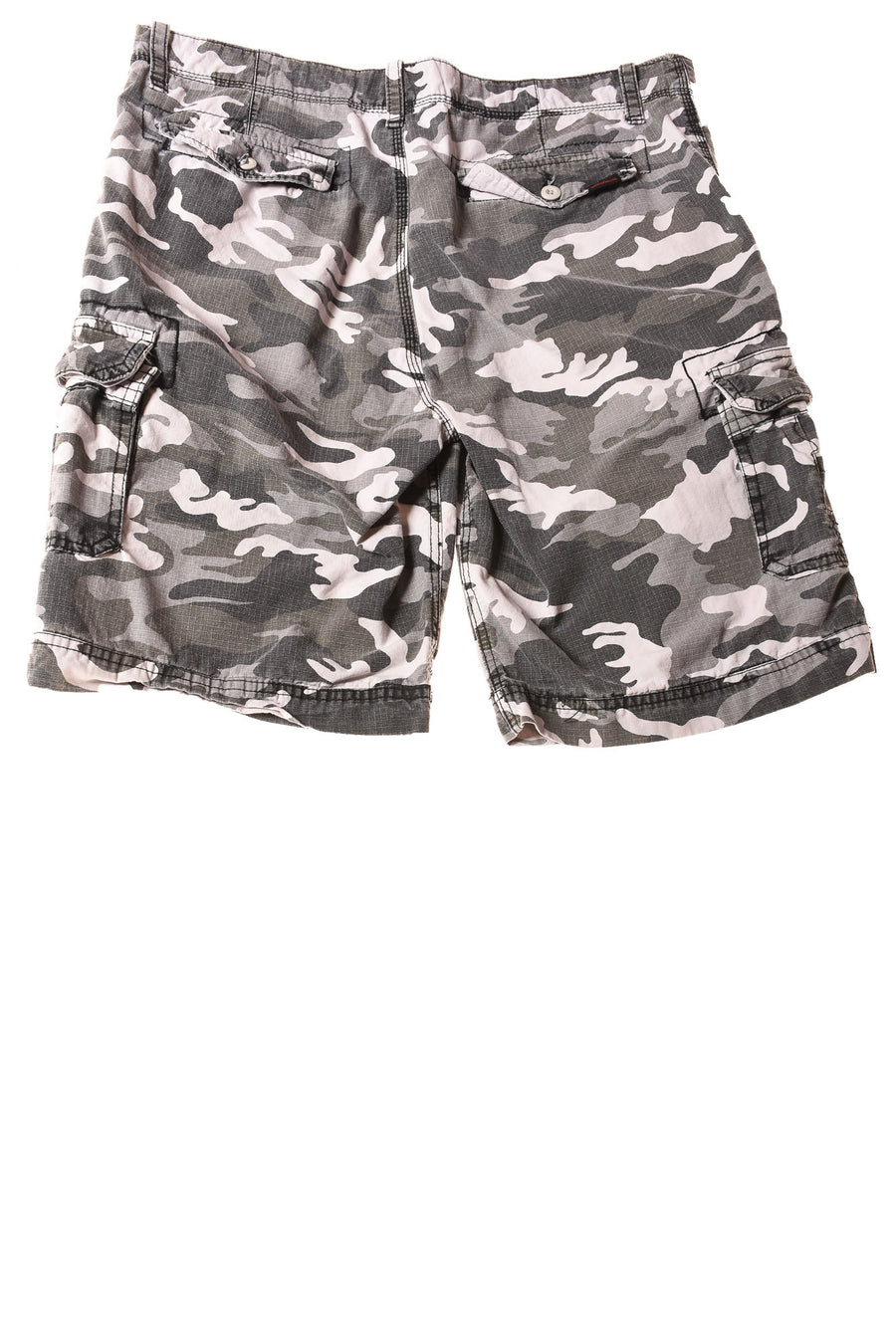 USED Wear First Men's Shorts 36 Gray / Camo Print