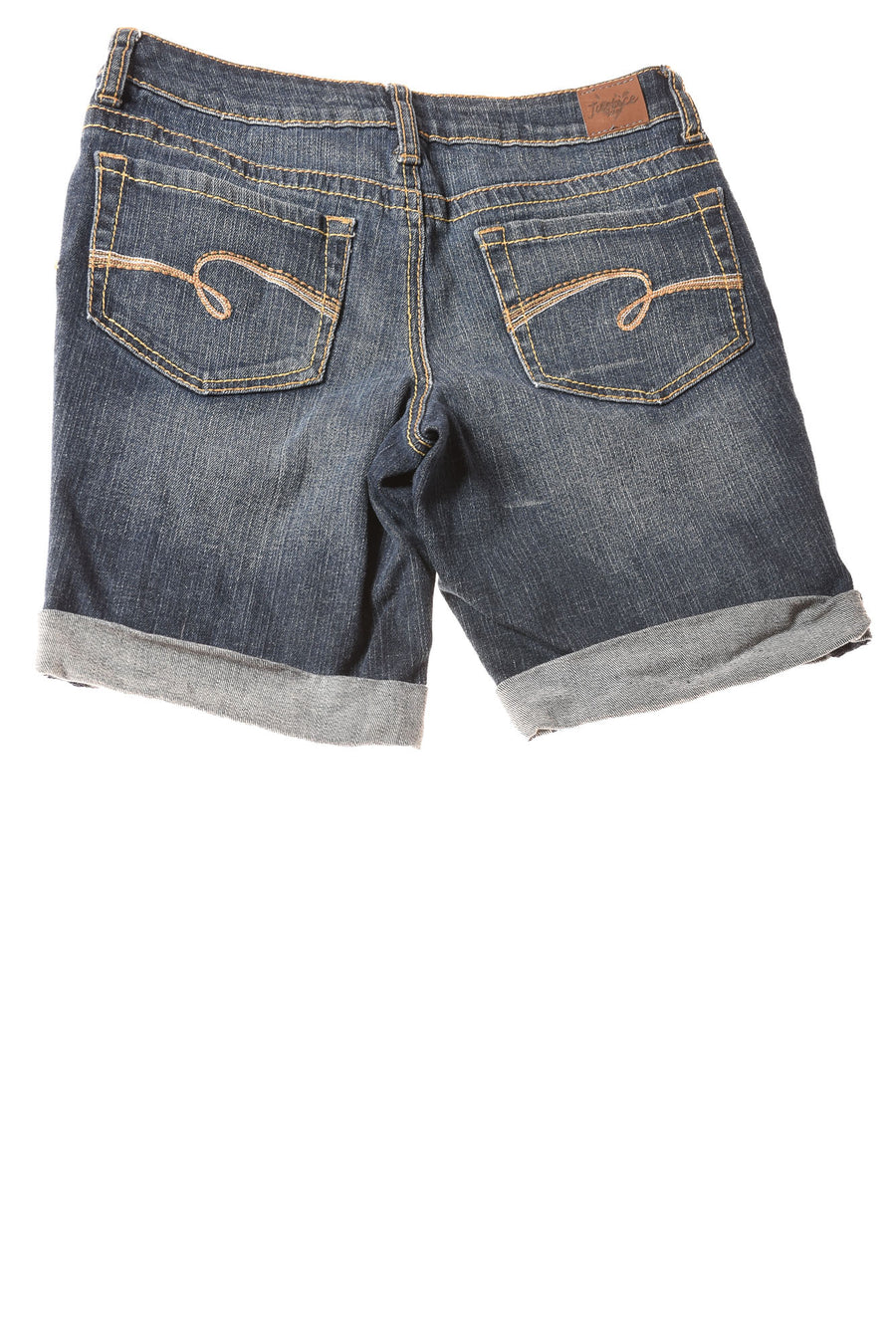 USED Justice Jeans Girl's Shorts  10.5 Blue