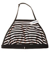 NEW Old Navy Women's Swimsuit Top Medium Black & White / Stripes
