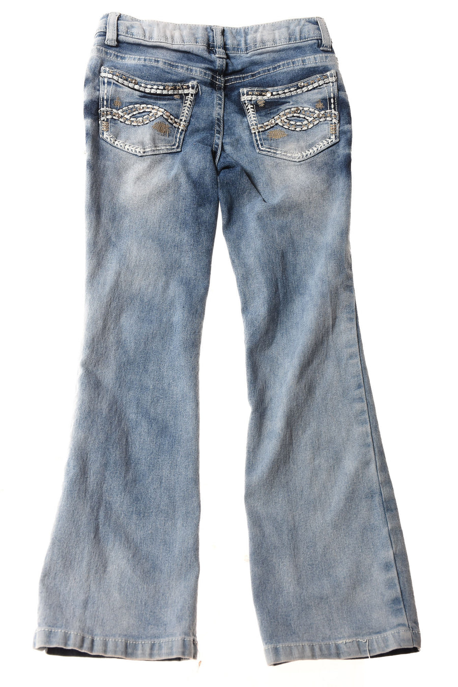 USED Squeeze Girl's Jeans  7 Blue