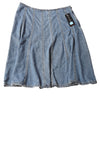 NEW Relativity Women's Skirt  12 Blue
