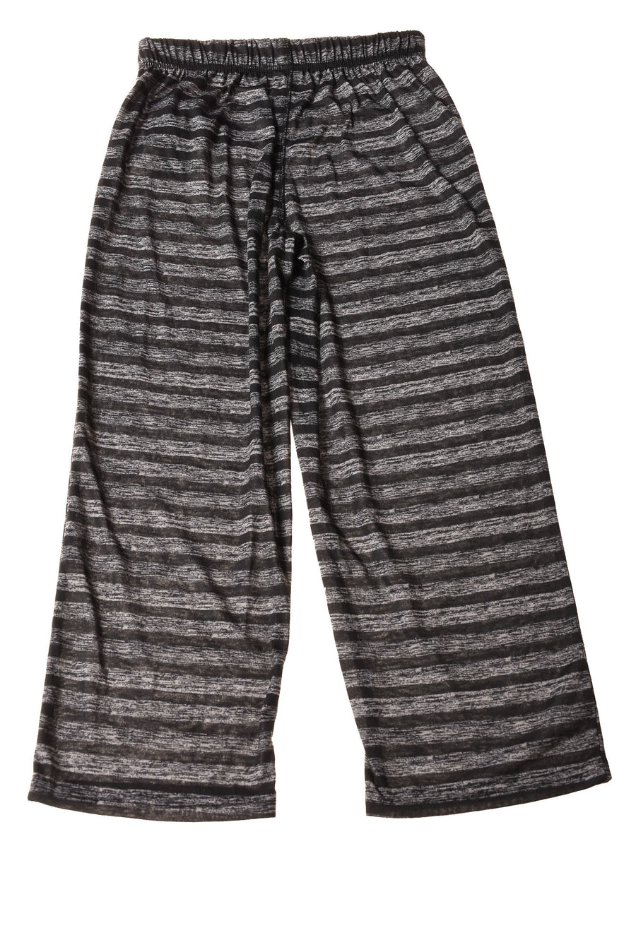 NEW Max And Olivia Girl's Pants  12/14 Black / Striped