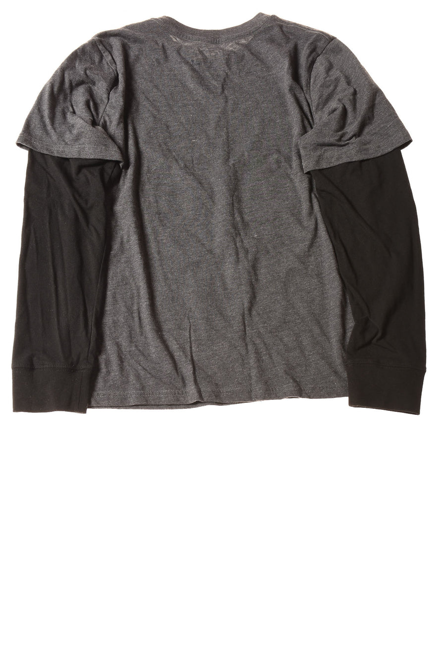USED Hybrid Boy's Shirt X-Large Charcoal