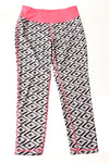 USED Danskin Now Girl's Yoga Pants Large Multi-Color / Print