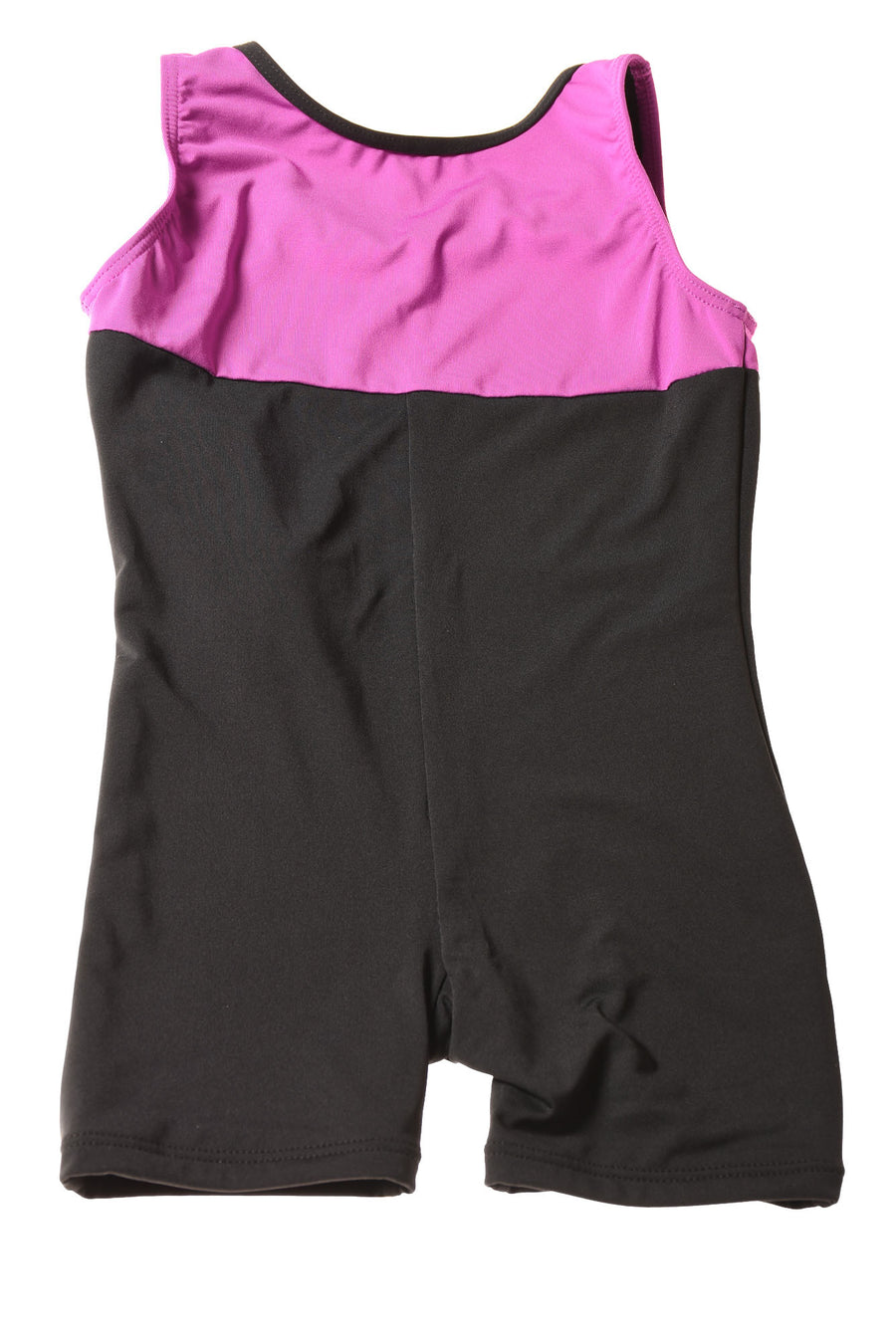 NEW Top Sports Girl's Outfit Large Black & Purple
