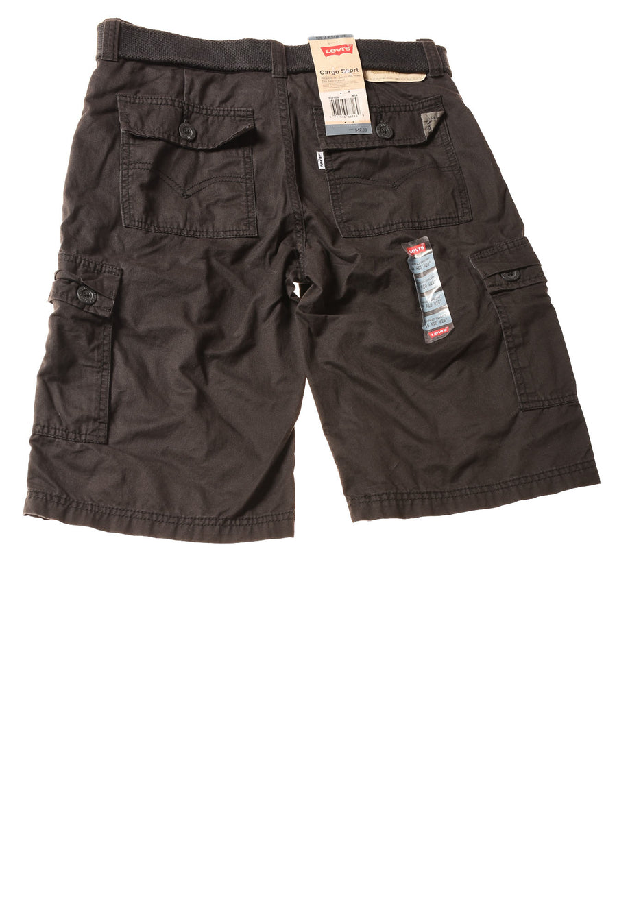 NEW Levi's Boy's Shorts 16 Charcoal