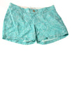 NEW Old Navy Women's Shorts 4 Teal / Print