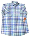 NEW Sonoma Men's Shirt Medium Blue / Plaid