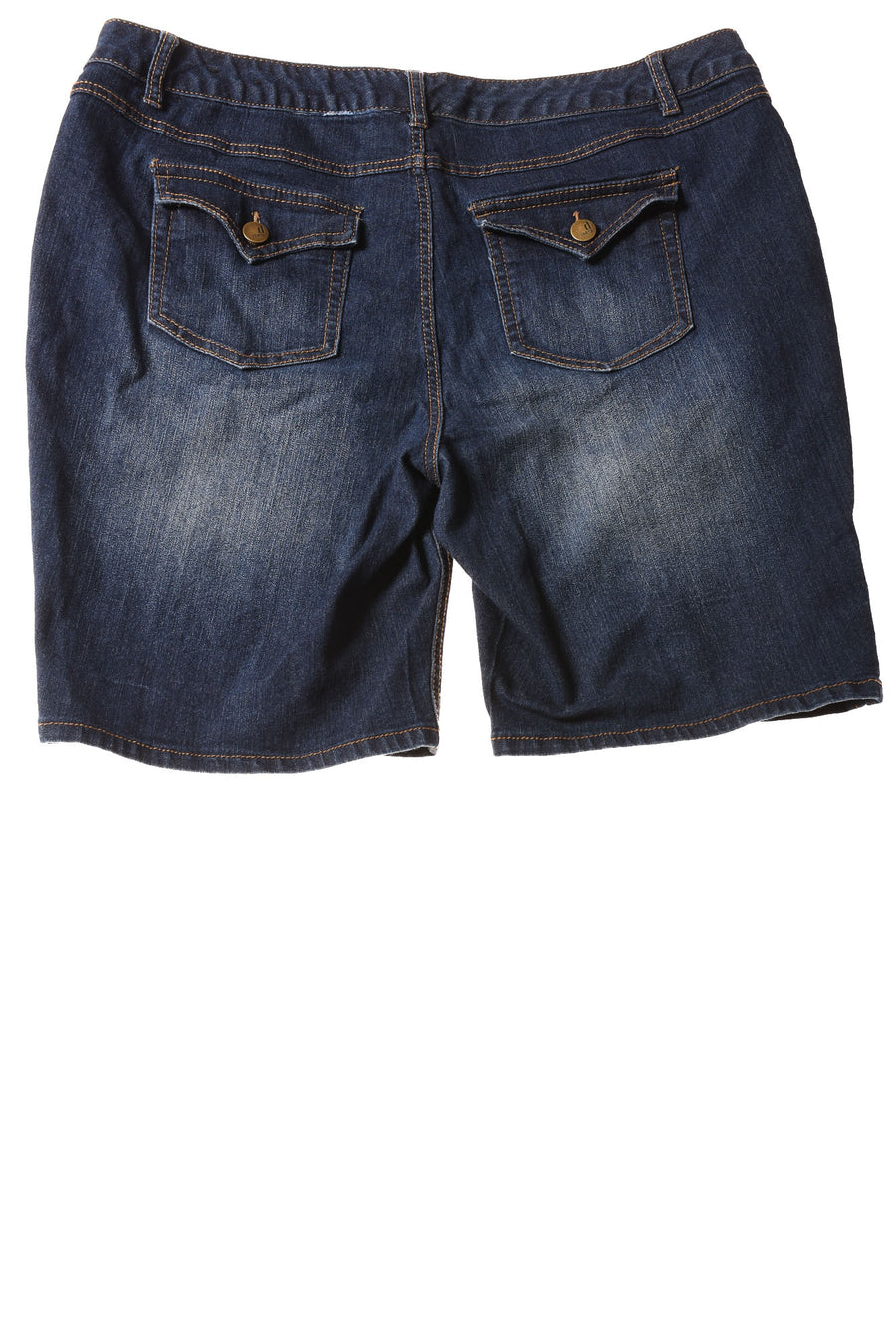 USED D. Jeans Women's Shorts 20 Blue