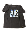 USED Air Jordan Men's Shirt X-Large Black / Print