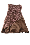 NEW Jump Women's Dress 9/10 Brown & Pink / Floral
