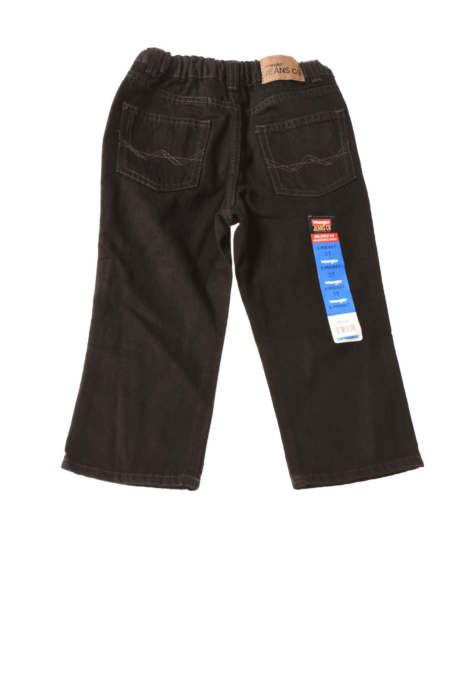 NEW Wrangler Toddler Boy's Jeans 3T Black