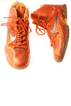 USED Nike Men's Shoe 10 Orange