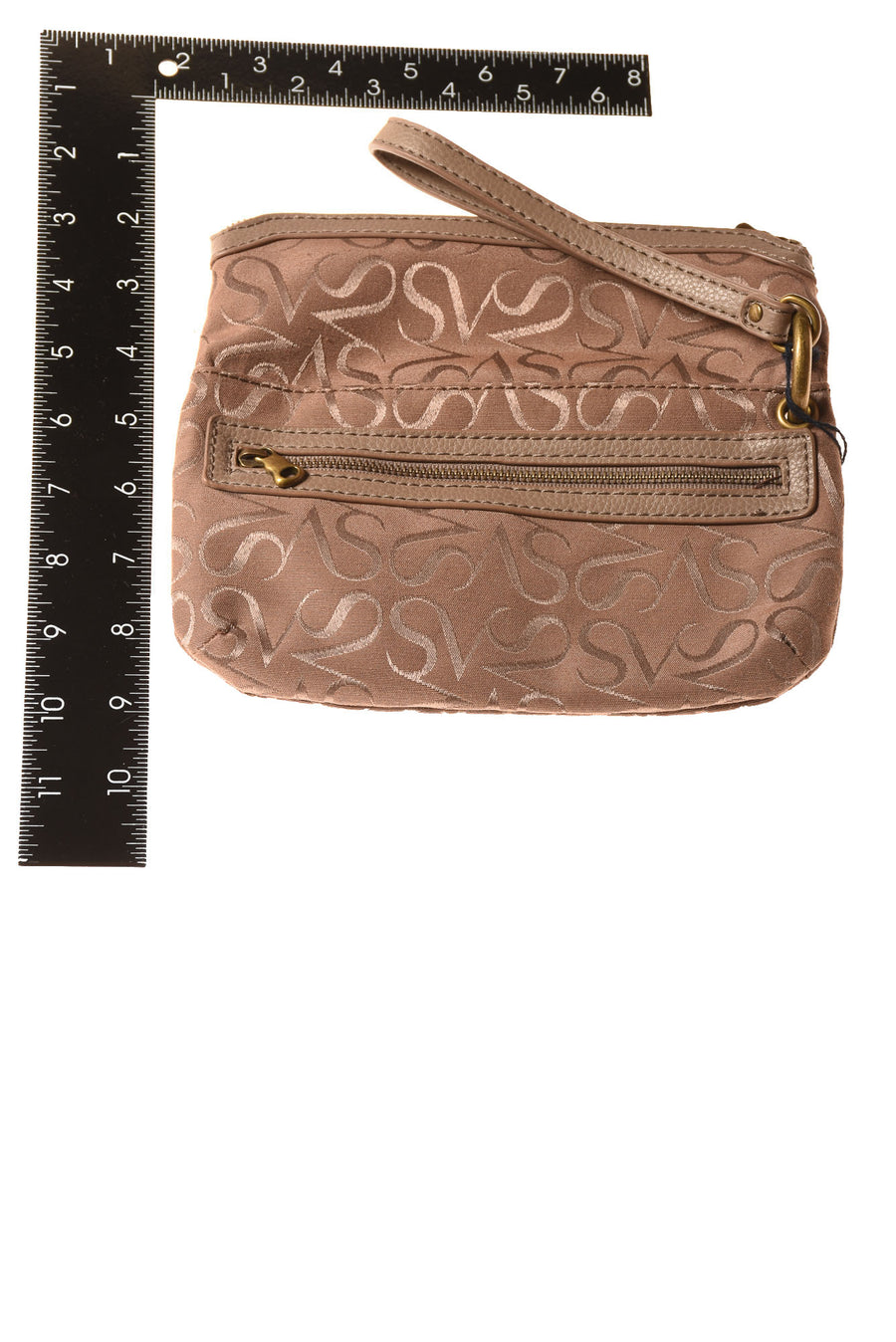 NEW Simply VeraWang Women's Handbag N/A Brown Suede / Print